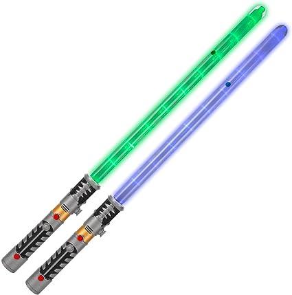 Espada Láser Sable Láser Sonido Luz Vibración con Star Wars De
