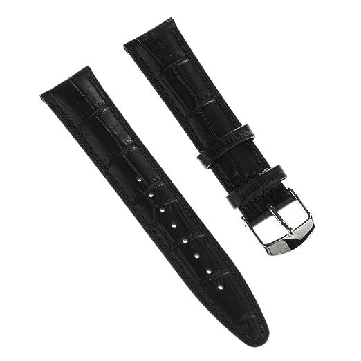 847585b28e0d7 Festina Bracelet de Montre élégant Bracelet de matière Cuir Noir pour  Festina f16872