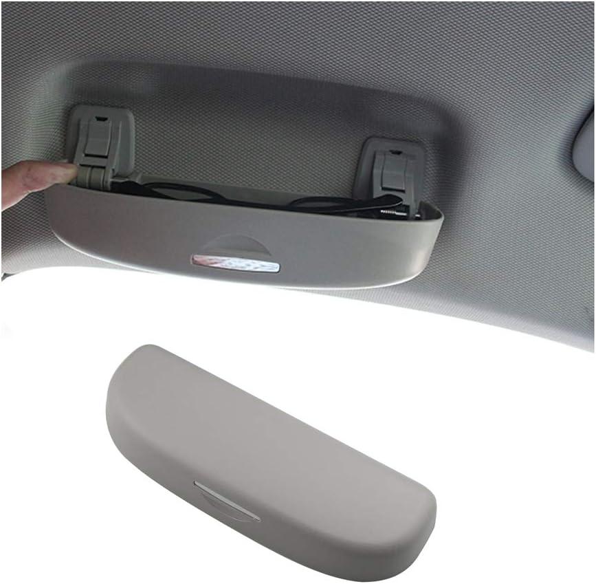 ShangDeLi Auto Sonnenbrille Box Sonne Brille Halter Brillenetui Brillenhalter f/ür A3 8V 8P S3 A4 B9 B8 Q3 Q5 Zubeh/ör Beige