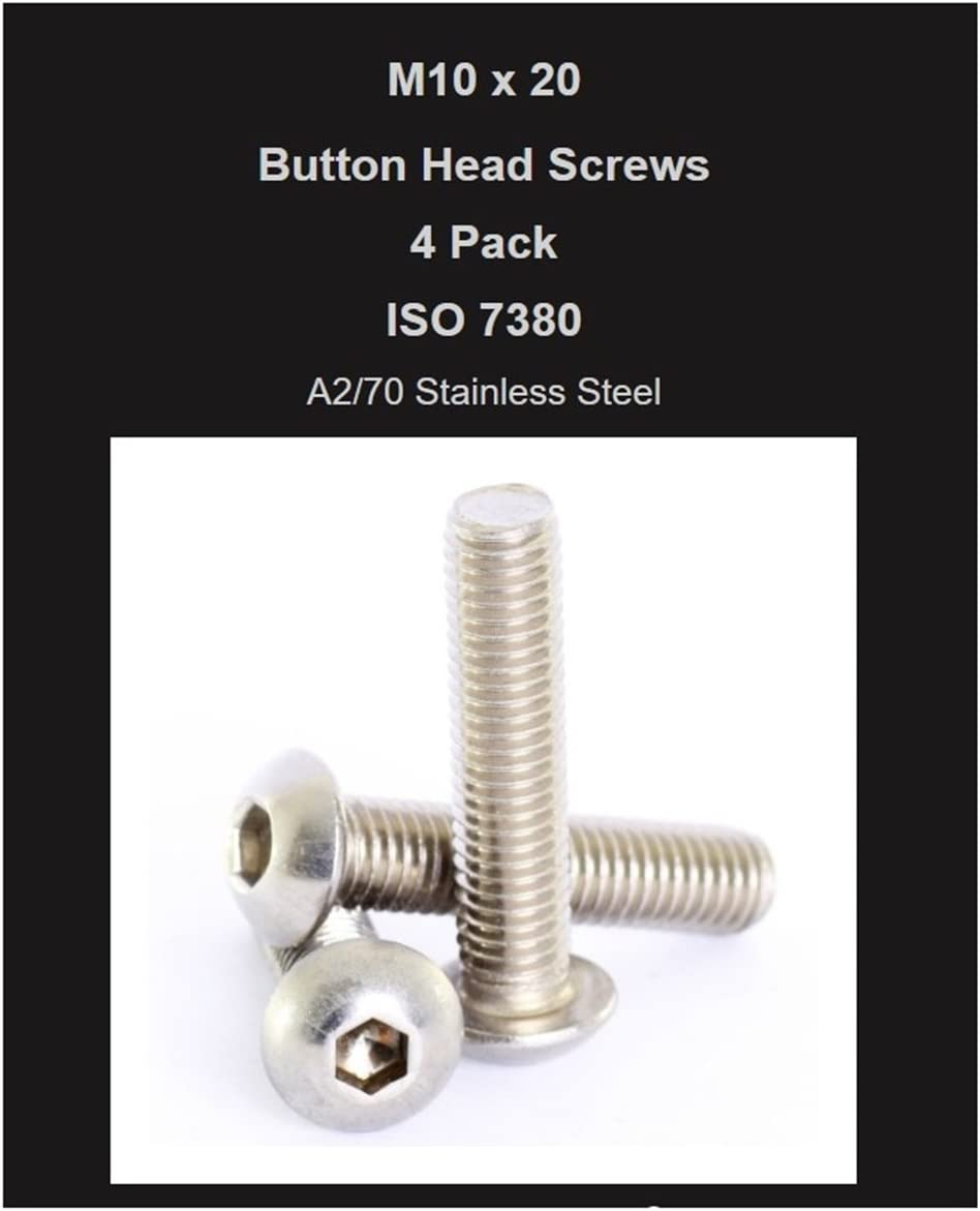 Hindley 44307 1//4 X 3 Stainless Steel Eye Bolt With Nut