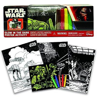 Star Wars Glow in The Dark Poster Activity Play Set