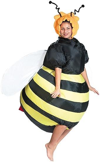 Playtastic Luftkostum Selbstaufblasendes Kostum Fette Biene