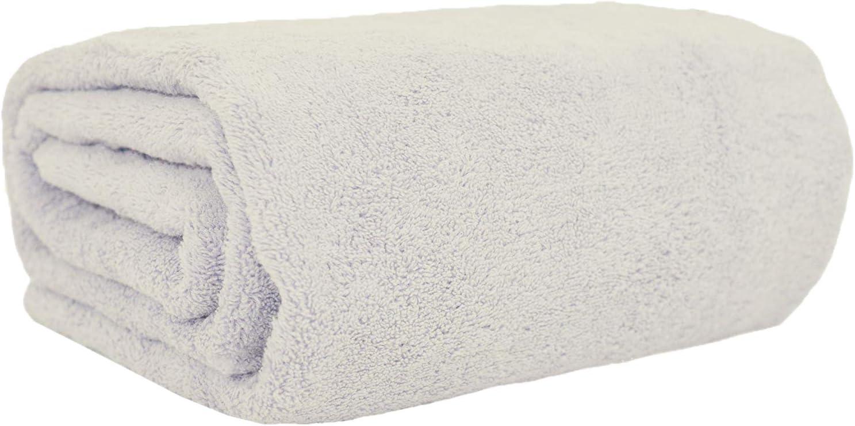 Large Bath Towel 1 Pack, White Beach Towel Turquoise Textile 100/% Turkish Cotton Eco-Friendly Soft Multi-Purpose Towels 35x60 Inch Bath Sheet