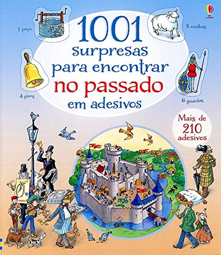 1001 Surpresas Para Encontrar no Passado em Adesivos