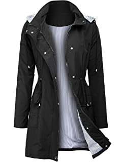 Trench Jacket Coat Outdoor Rain Urban Ju1l35FcTK