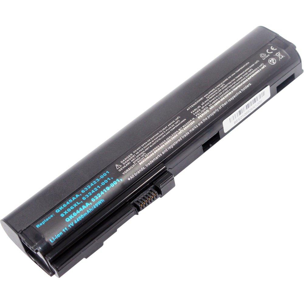 Bateria 5200mah Para Hp Elitebook 2560p 2570p Sx03 Sx06 632423-001 Hstnn-db2k