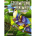 Steampunk Animals Coloring Book (Adult Coloring) 6