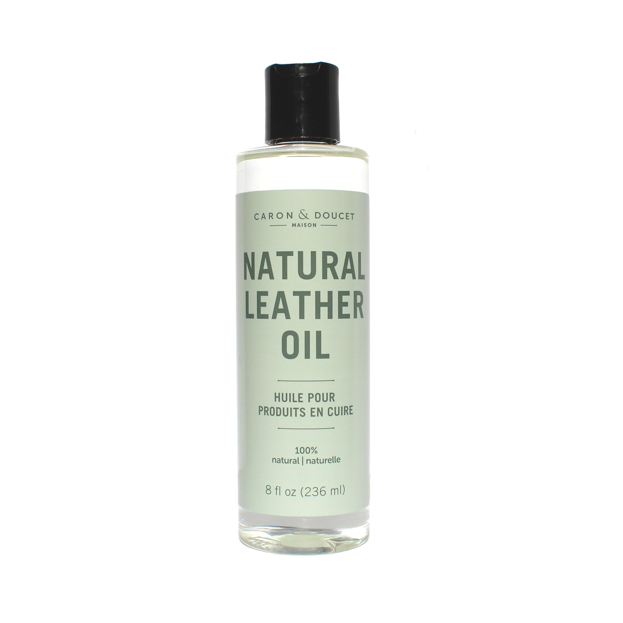 Caron & Doucet - 100% Natural Leather Oil & Conditioner to Repair & Restore; Shoes, Boots, Couches, Car Seats, Purses, Jackets, Saddles & Tacks
