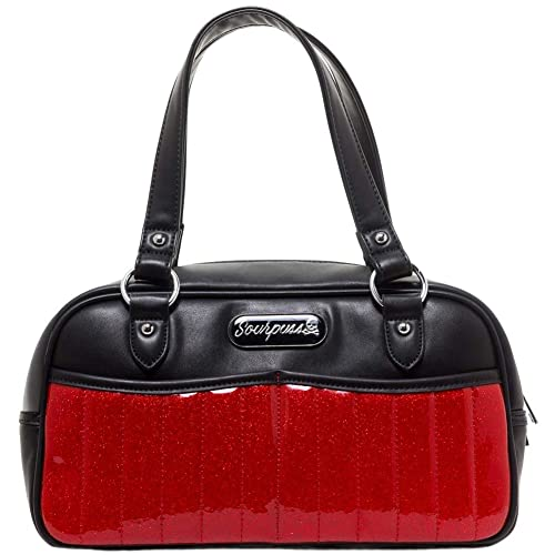 Amazon.com: Sourpuss – Cortina de Sabrina bolso color rojo ...