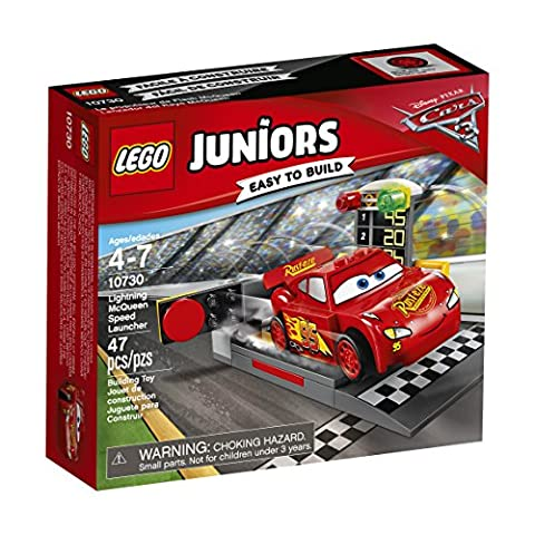 LEGO Juniors Lightning McQueen Speed Launcher 10730 Building Kit - Cars