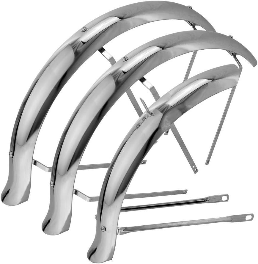 3 wheel fender bike Flared Standard Hollow Trike Conversion Fender Set Chrome