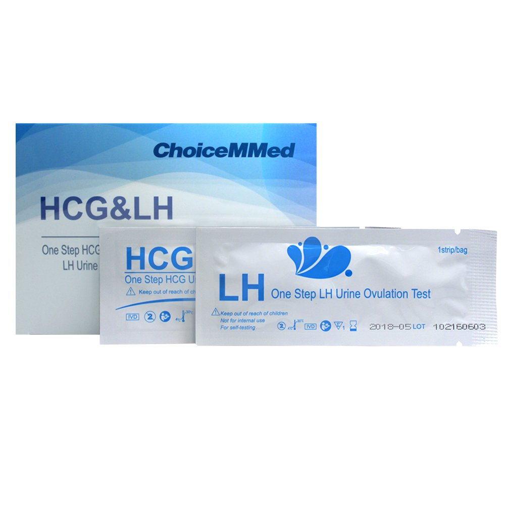 CHOICEMMED 30 Ovulation Test Strips and 5 Pregnancy Test Strips - LH Test Strips as Ovulation Test Kit and HCG Pregnancy Test - FDA Approved - Over 99% Accurate .Ltd
