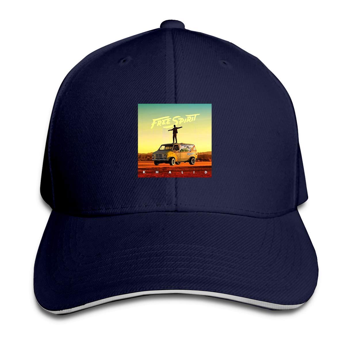 Khalid Adjustable Sports Hats Sun Hat for Men and Women