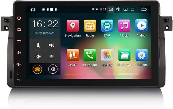 ERISIN 9 Pulgadas Android 10.0 Estéreo de Automóvil para BMW ...