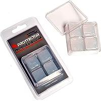 Protetor Auricular Dogma Transparente Silicone - kit com 2 pares