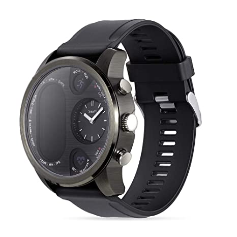 Amazon.com: HX0945 Smart Watch Men T3-PRO Dual Time ...
