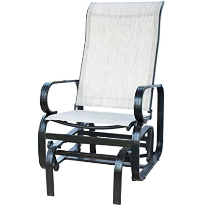 Amazon.com: PatioPost, sillón para exterior de tela ...