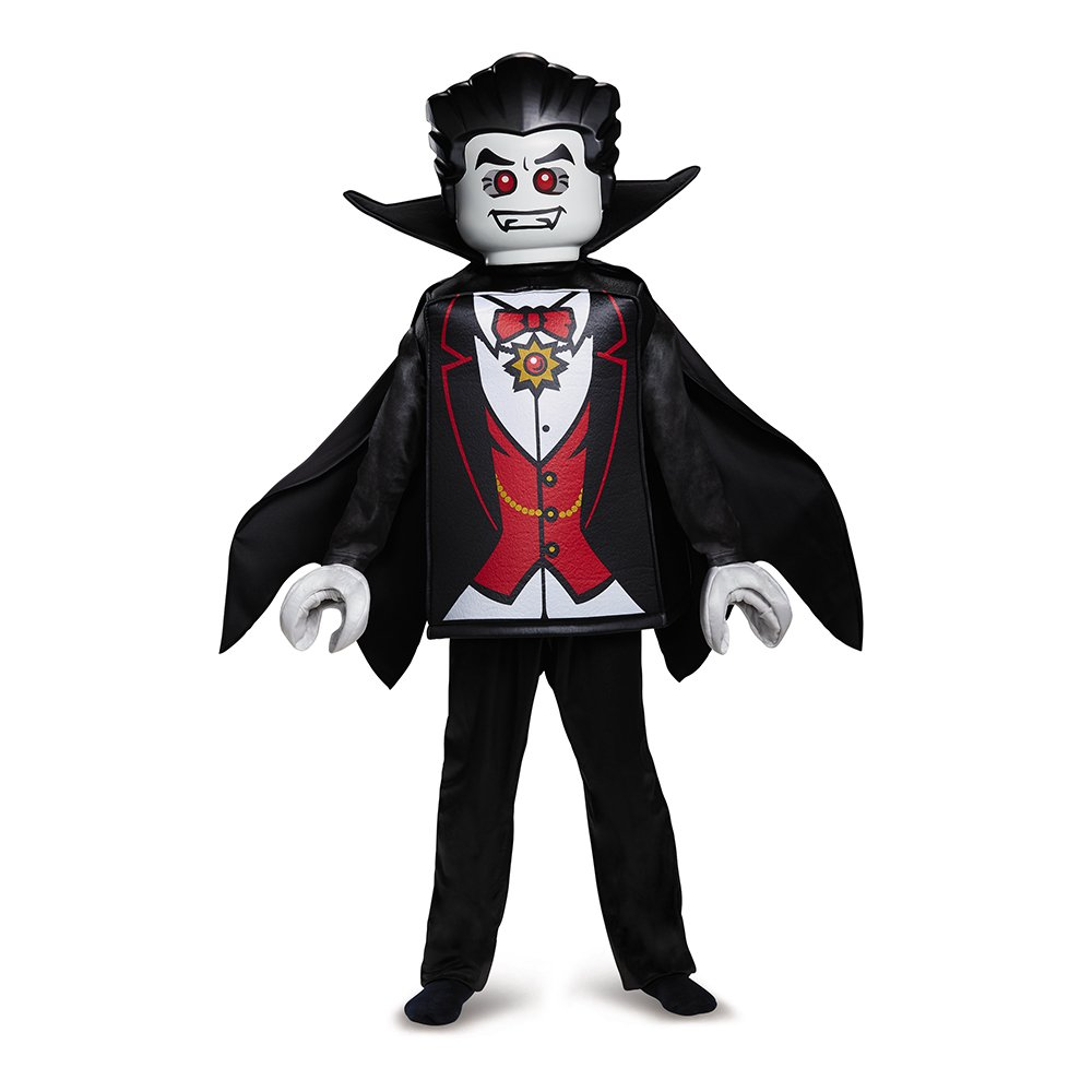 LEGO Vampire Deluxe Costume, Black, Small (4-6)