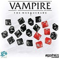 Modiphius MUH051578 Vampire The Masquerade - Masquerade Dice Set