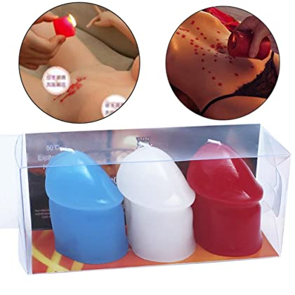 Mchoice 3pcs Low Temperature Candles Drip Wax Sex Toys Adult Women Men Games  ...