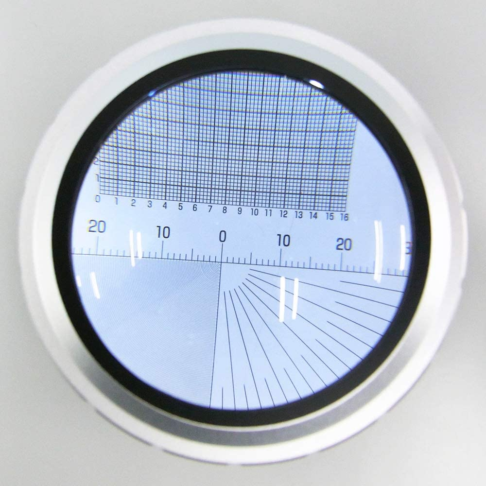 1 Pack 3R Measuring Scale Sheet for Magnifying Glass and Microscope 【Scale Sheet Only】