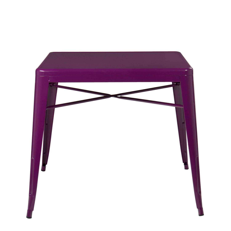 Scegli Un Colore Violetta Porpora - SKLUM Tavolo LIX X 80x80