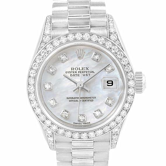 Rolex Datejust 79159 - Reloj automático para mujer (certificado de autenticidad)