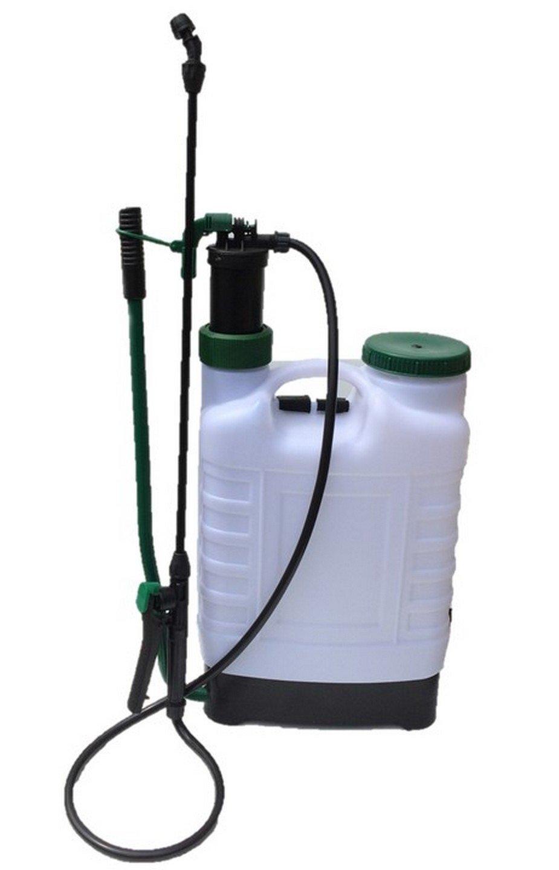 Greenkey Garden & Home Knapsack Sprayer 4 Nozzle Types, White, 12 Litre 176