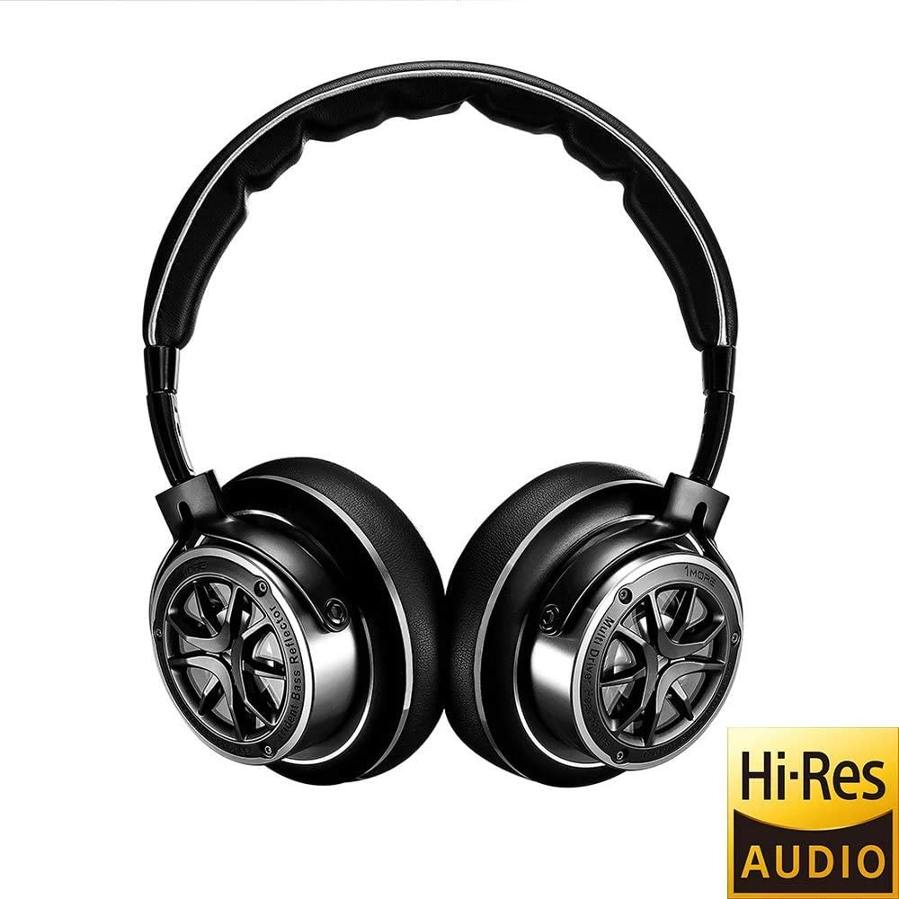 1MORE Triple-Driver HiFi Auriculares On-Ear Hi-Res Audio con Cable,