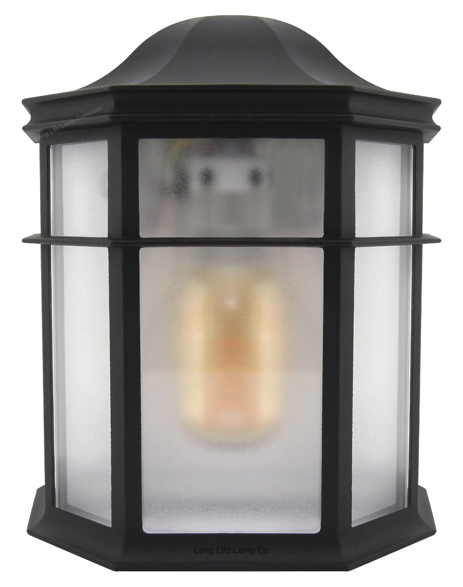 Vintage Retro Outdoor Garden Wall Light Frosted Cover Lantern Door Light ZLC080 eBay