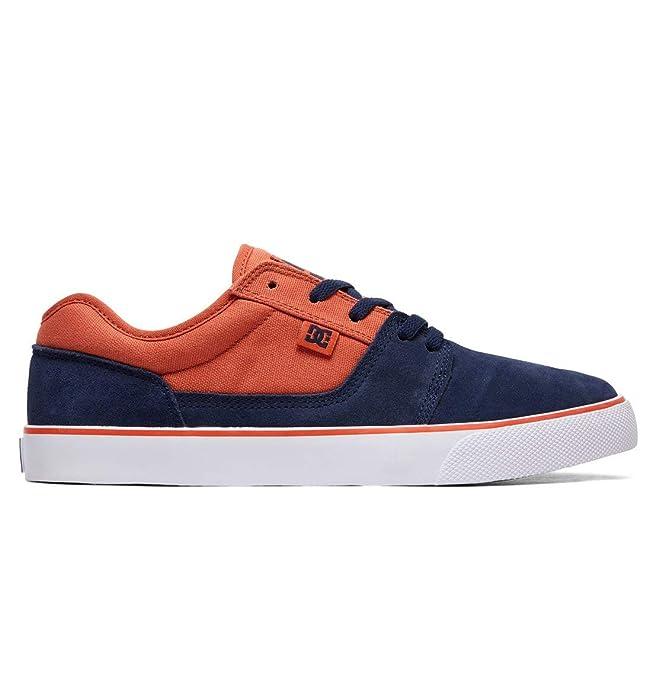 DC Shoes Tonik Sneakers Skateboardschuhe Herren Blau/Orange (Indigo)