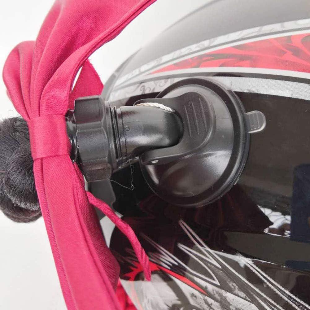 Inicio Casques de Moto Tresses en Nattes Cheveux de Nattes Rampe /à Gradient avec Ventouse pour Motocross Motocyclette Full Face Off Road Moto Capacete D/écoration Le Casque nest Pas Inclus