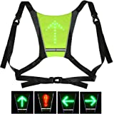 Cycling Bicycle Accessories Efficient Lixada Bike Bag Usb Reflective Vest With Led Turn Signal Light Remote Control Sport Safety Bag Gear For Cycling Jogging Available In Various Designs And Specifications For Your Selection