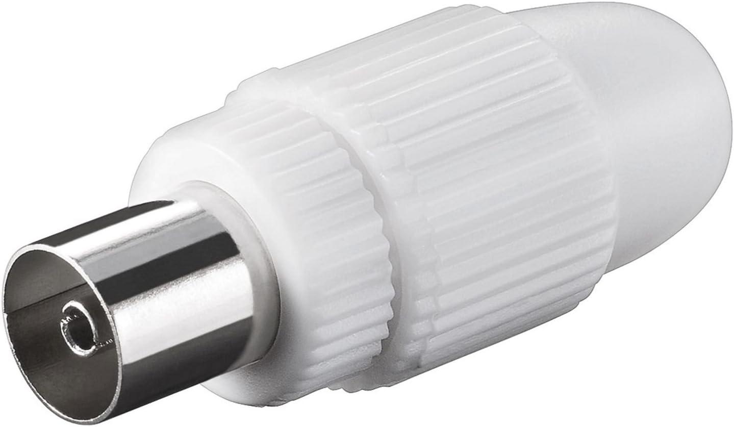 TV cable conector de antena hembra de 9,5 mm
