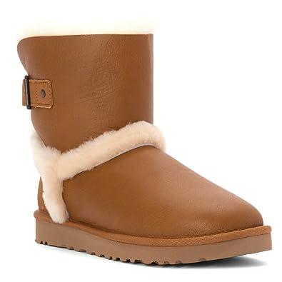 UGG Women's Airehart Vintage Chestnut/Twinface Boot 6 B - Medium