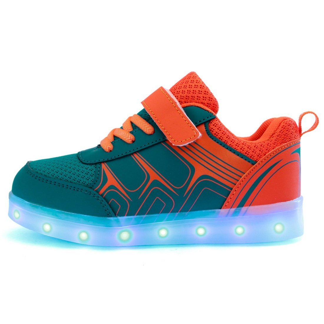 Men's/Women's sexphd Kids Boys Girls Lights USB Charger LED Lights Girls Light up Flames Sports Shoes Sneaker Easy to clean surface King of quantity Perfect processing WR24617 a85927