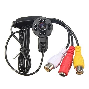Bargain World Vigilancia DVR de la visión nocturna Mini cámaras de seguridad de interior PAL NTSC IR HD 1080p: Amazon.es: Electrónica