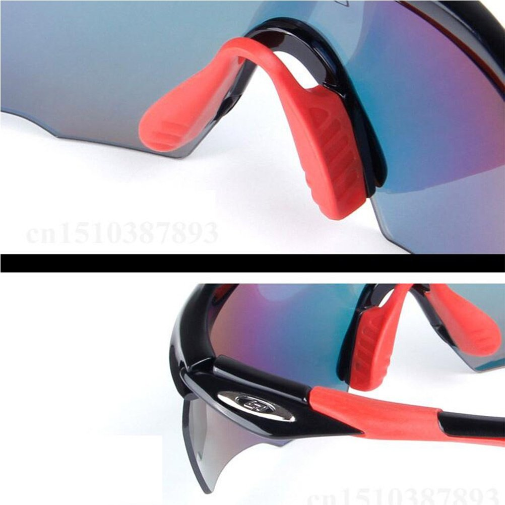 1b7e7fbb35 CDSS Mens Sports sunglasses Polarized light Anti-UV Cycling Glasses  movement outdoor Windbreak Eye protection Colorful Coating goggles
