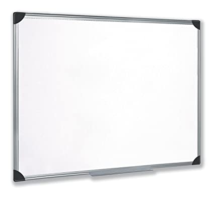 5 Star 908116 - Pizarra magnética 90 x 60 cm, color blanco