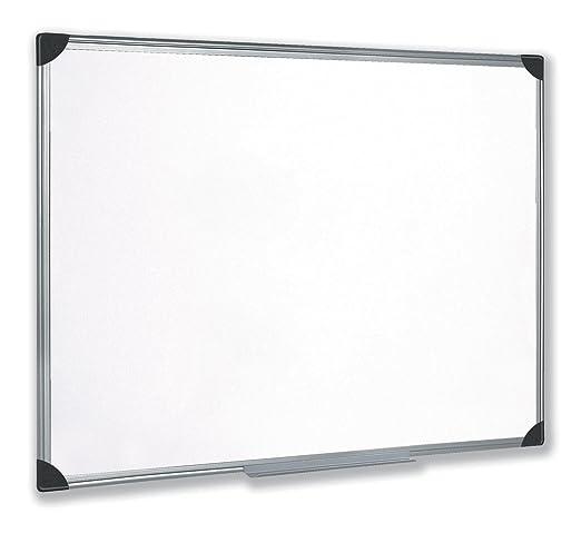 5 star 908441 - Pizarra blanca magnética, 90 cm x 120 cm, color blanco