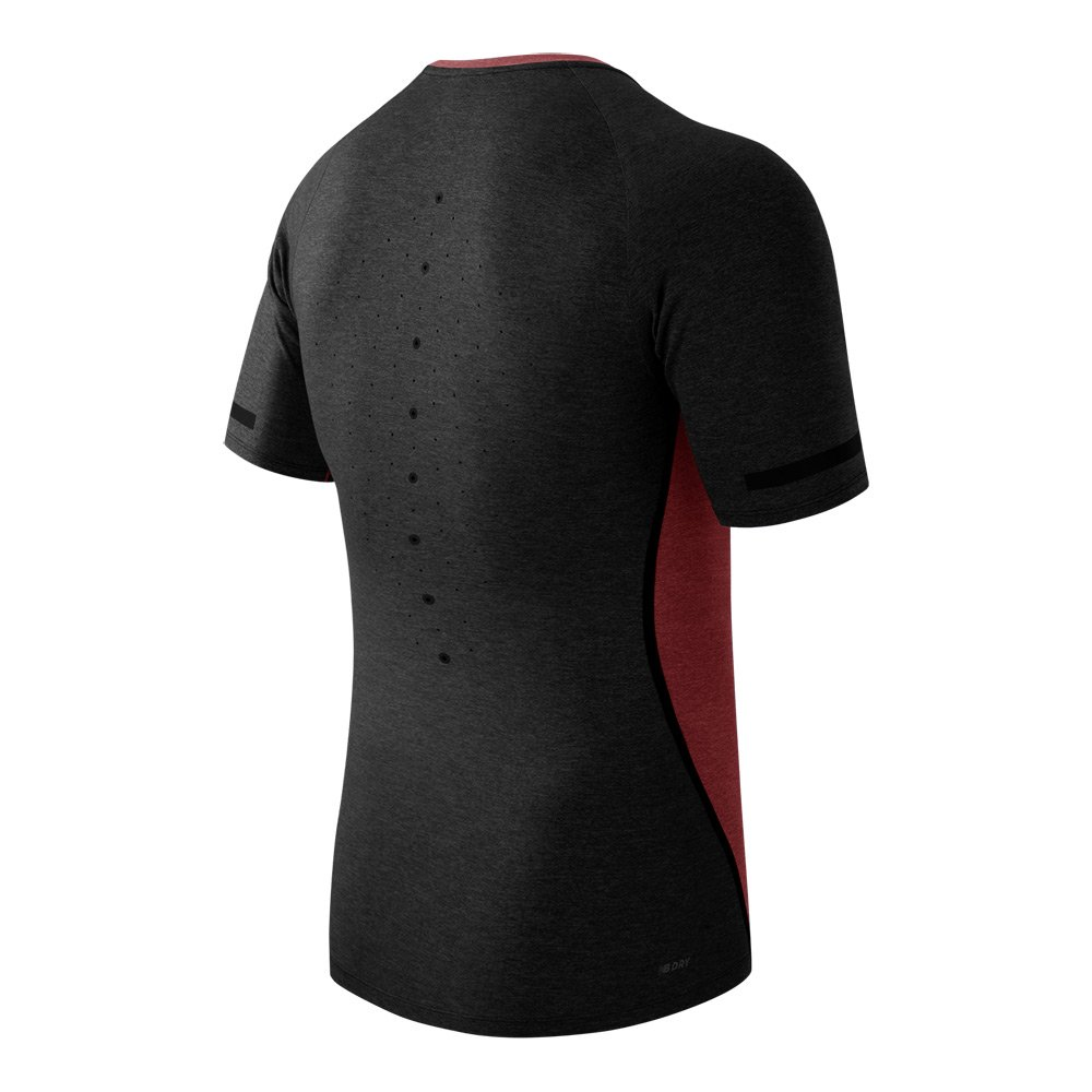 New Balance Mens Trinamic Short Sleeve Top