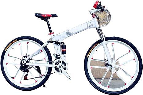 MFWFR Bicicleta Plegable, Bicicleta de Montaña, Bicicleta de ...