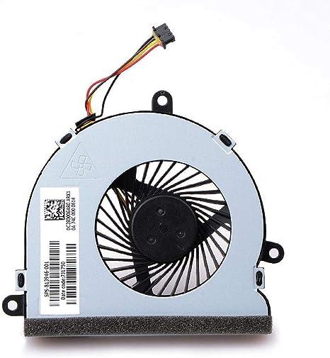 TB® Ventilador de refrigeración de Repuesto para HP Notebook 15 ...