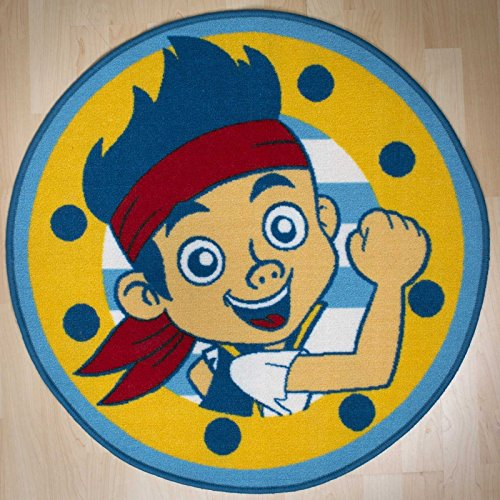 Jake and The Never Land Pirates Rug (Jake And The Neverland Pirate Characters)