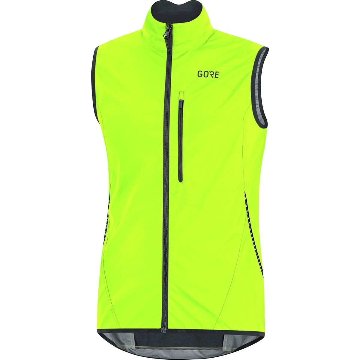GORE Wear C3 Men's Vest GORE WINDSTOPPER, XXL, Neon Yellow/Black by GORE WEAR