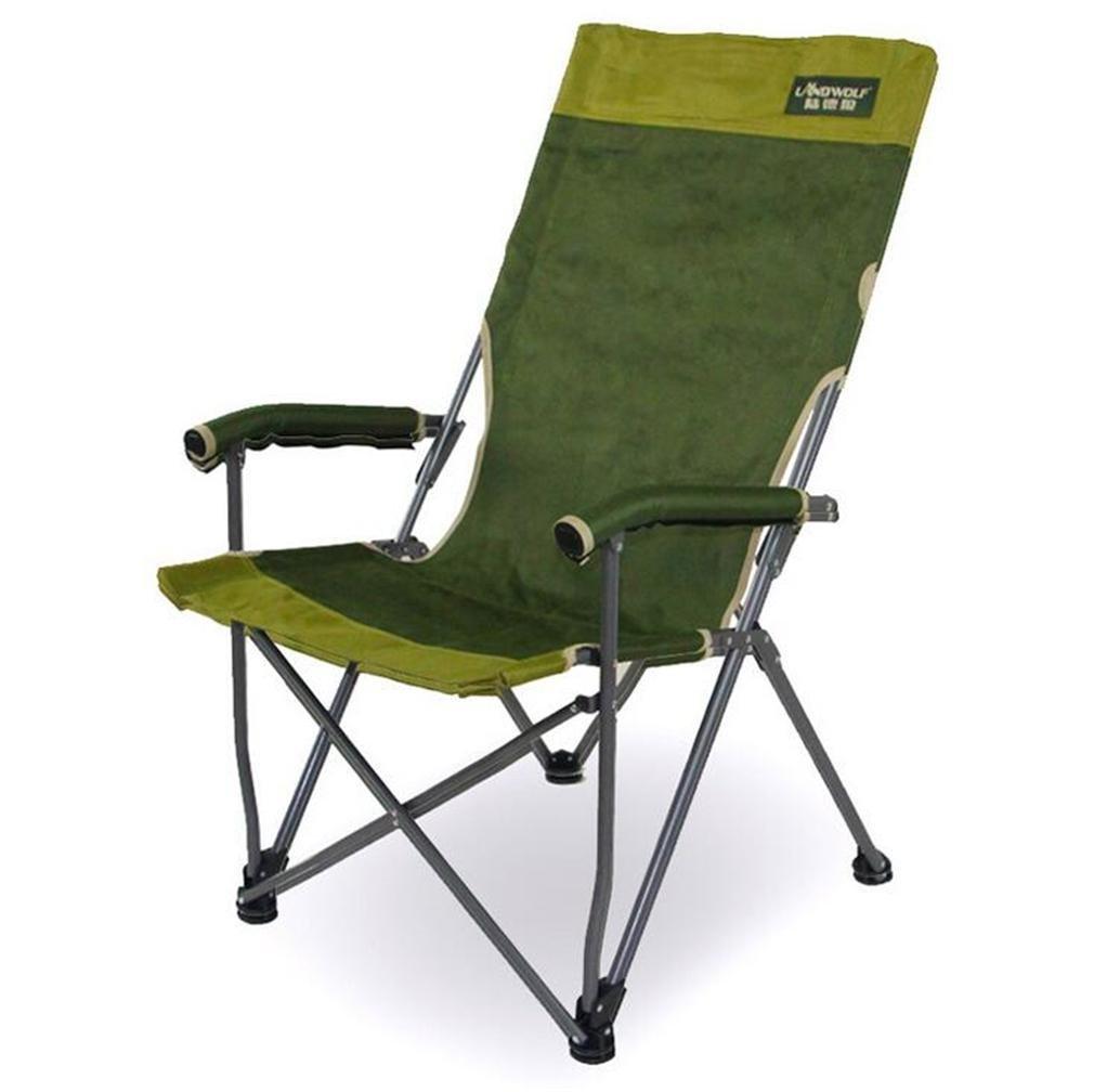 TTYY Mond Stuhl Fischen-Hinterhof, der im Freien faltenden Rest-Stuhl mit Handläufen kampiert