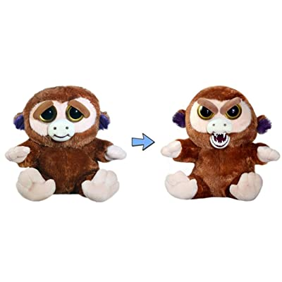 William Mark Feisty Pets Grandmaster Funk Adorable Plush Stuffed Monkey that Turns Feisty with a Squeeze: Toys & Games
