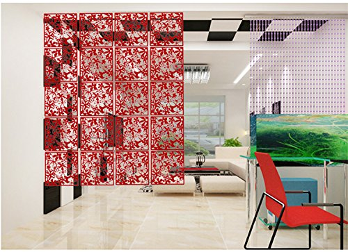 Amazon.com: 20PCS Room Divider Biombo Room Partition Wall Room ...