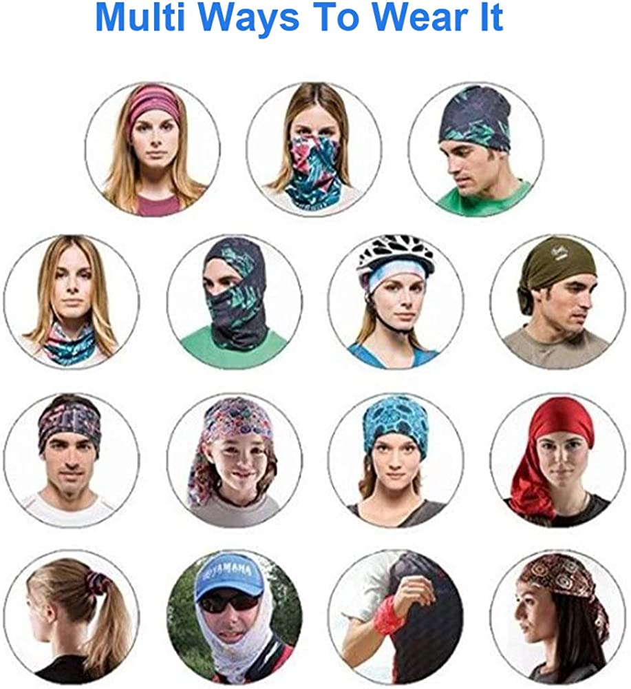 Headscarf Men//Women Multifunctional Tube Scarf Bandana Mouth Guard Neckerchief Snoods For Men Fast Delivery
