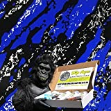 Dip Ape Blue Rip Tear Hydrographics Water Transfer Hydro Dip Dipping Kit